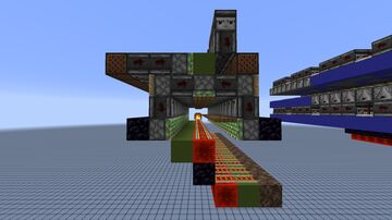 Minecart Splitter | 1-wide tilable Minecraft Map & Project