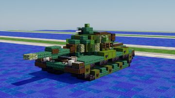 M60A1 Patton Minecraft Map & Project