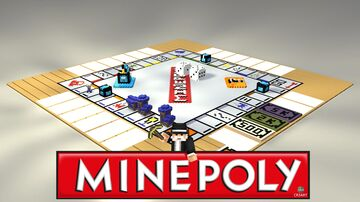 MINEPOLY 🎲 [Minecraft Monopoly] Minecraft Map & Project