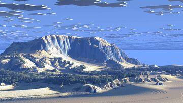 Kenmaya - A 2k Winter Glacier Terrain (Java & Bedrock) Minecraft Map & Project