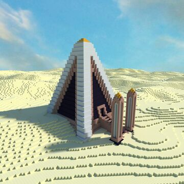 Desert Temple Replacement Building Pack Minecraft Map & Project