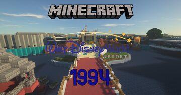 Walt Disney World 1994 Minecraft Map & Project