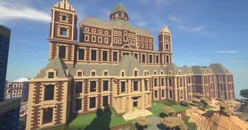 Nicks palace Minecraft Map & Project