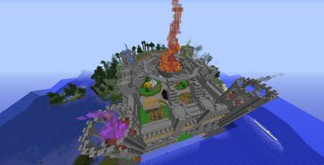 Castle Spawn Schematic Minecraft Map & Project