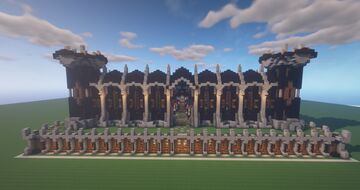 Rustic Medieval Factions + Prison Spawn | 1.15.2 | Minecraft Map & Project