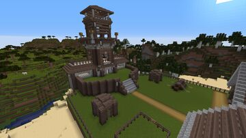 Pillager Outpost My Version Minecraft Map & Project