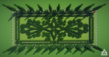 Palatial Hedge Garden Guide (1 of 3) Minecraft Map & Project