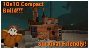 1.17 Copper Shack Tutorial! Minecraft Map & Project