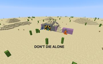 Don't Die Alone - Beta Minecraft Map & Project