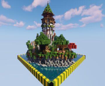 Merlin's Retreat Minecraft Map & Project