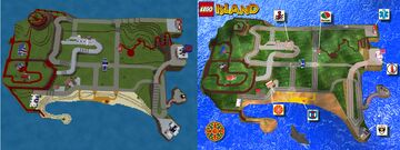 LEGO ISLAND (1997) - FULL GAME MAP! Minecraft Map & Project