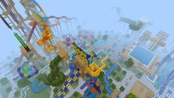 Lazuli Lake Water Park [$5] Minecraft Map & Project