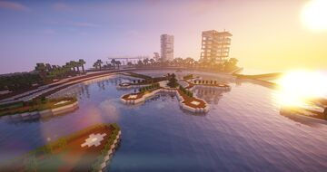 Denebol Crystal Bay [CZECH] Minecraft Map & Project