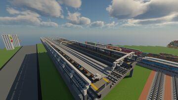 Minecraft Shinkansen Animation Train World (1.16.4) Minecraft Map & Project