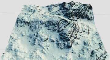 Novaden - The Barren Snow (1000x1000) Minecraft Map & Project