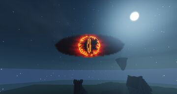 Sauron Eye Minecraft Map & Project