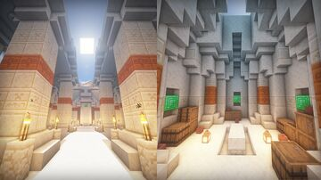 Desert Temple Cinematic Minecraft Map & Project