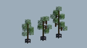 Thin Tree Pack Minecraft Map & Project