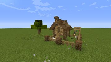 Small Chicken Coop Minecraft Map & Project
