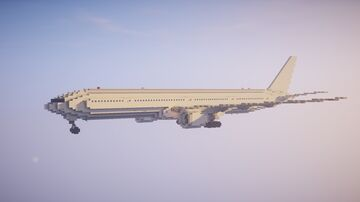 1,5:1 Boeing 777-300ER + Liveries Minecraft Map & Project