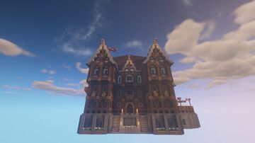 Medieval/fantasy hotel Minecraft Map & Project