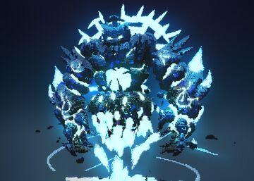 Ice Golem Minecraft Map & Project