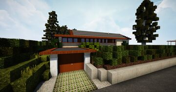 Danish 60's House #1 | TRS | Parkvej 2, 4450 Jyderup Minecraft Map & Project