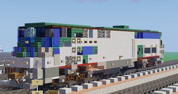 "[1.5:1] Amtrak GE P42DC ""Genesis"" Diesel Locomotive Minecraft Map & Project"
