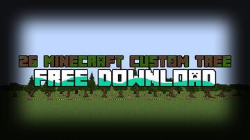 26 Minecraft custom tree - Free Download Minecraft Map & Project