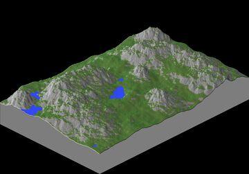 768x512 Jungle Map Minecraft Map & Project