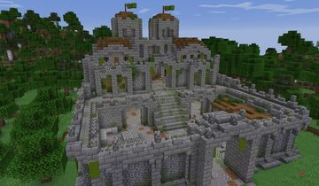 Abandoned Zombie Castle Minecraft Map & Project