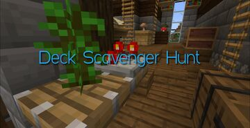 Deck Scavenger Hunt Minecraft Map & Project