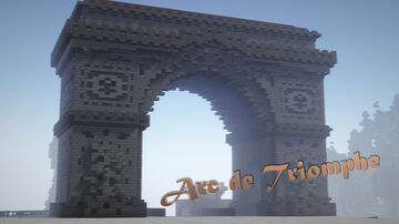 Arc de Triomphe (My own version) [The Kingdom Legacies] Minecraft Map & Project