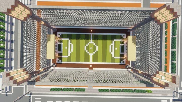 Soccer Field | 1.16.2 Minecraft Map
