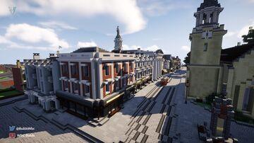 Lower High Street, Walhampton Minecraft Map & Project