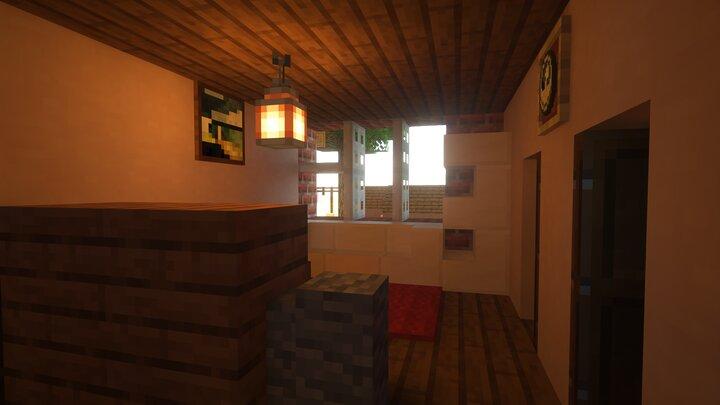 Furnished Apartment Livingroom