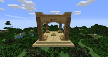 Basic Survival Spawn (for use with structure blocks) Minecraft Map & Project
