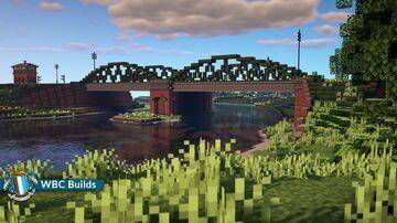 Lymore Causeway Railway Bridge, Walhampton Minecraft Map & Project