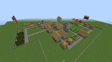 Flans Mod Map: Village Minecraft Map & Project