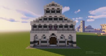 Pisan Romanic church studies Minecraft Map & Project