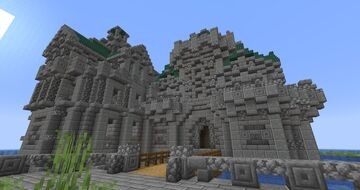 Ocean Castle Minecraft Map & Project