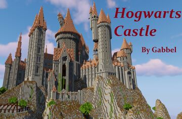 Hogwarts Castle (400+ rooms) Minecraft Map & Project
