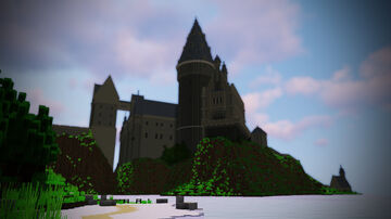 Hogwarts Castle (Prisoner of Azkaban Videogame) (1.14.4) Minecraft Map & Project