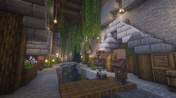 Ravine Village Minecraft Map & Project