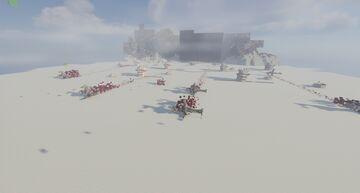 Battle Of Crait - StarWars Minecraft Map & Project