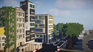 PoahCity Minecraft Map & Project