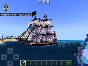 PIRATE BRIG Minecraft Map & Project