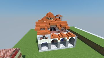 Agios Demetrios Mystras Minecraft Map & Project