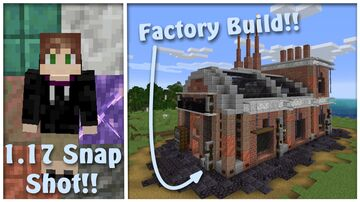 1.17 Factory Build!!! Minecraft Map & Project