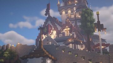 Kessel's Keep [Historical-Fiction European Medieval Town] Minecraft Map & Project